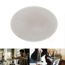 Silver Stainless Steel Reusable Mesh Coffee Filter Compatible For AeroPress Home