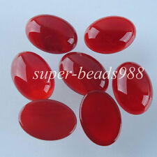 Free shipping Red Agate Gemstone Oval Cabochon CAB 5PCS 13x18MM Jewelry SN735