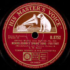 TOMMY DORSEY & HIS ORCHESTRA Mendelsohn's Spring Song/ Shine on, harvest.. X1801