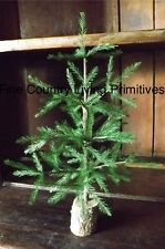 Primitive Country Colonial Christmas Reproduction Feather Tree 12""