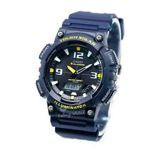 -Casio AQS810W-2A Analog Digital Tough Solar Watch Brand New & 100% Authentic