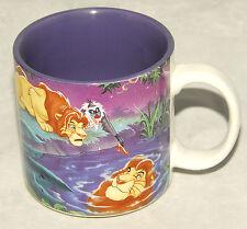 DISNEY - The LION KING - Colorful - COFFEE / TEA CUP MUG *COLLECTIBLE! *NICE!