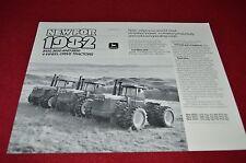 John Deere 8650 8450 8850 Tractor Dealers Brochure  LCOH