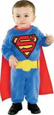 BOYS TODDLER NEWBORN SUPERMAN HALLOWEEN FANCY DRESS COSTUME FOR 0-6 MONTHS OLD