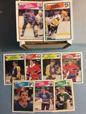1988-89 Topps Hockey Near Set- Missing 3- Cool Set! (186/189)