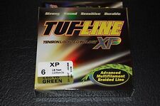 TUF-Line XP Green 6 lb Test 150 yards Multifilament Braid Fishing Line XP6-150GN