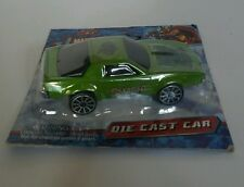 DIE CAST CAR  MARVEL HEROES  HULK   CAR GREEN SMASH