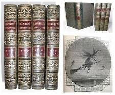1854 Tracts WITCHCRAFT Wars Sorcerers Mining Arabs Dante FINE LEATHER BINDINGS