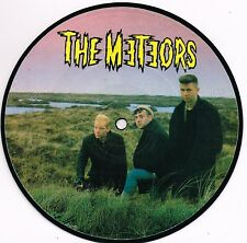 """THE METEORS johnny remember me UK ID 7"""" PICTURE DISC 45rpm_1983 MINT"""