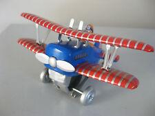 LOOPING PLANE WIND UP TIN REPLICA VINTAGE MODEL NEW - CLOCKWORK AIRCRAFT MODEL