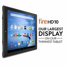 """Amazon Fire HD10 Tablet 10.1"""" Touch Display Wi-Fi 16GB (Special Offers, Black)"""