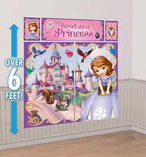 Disney Sofia The First Scene Setter Princess Wall Decoration Poster Party Supply