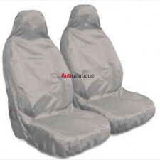 MITSUBISHI SHOGUN/PAJERO LWB (92-00)  HEAVY DUTY GREY WATERPROOF SEAT COVERS 1+1