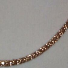 """18"""" Nugget look 14k Gold bonded, box chain Chunky, thick, Sharp  Shaprest!   #C5"""
