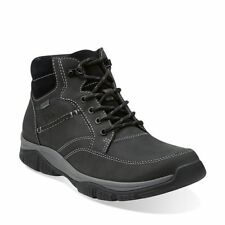 Clarks Rampart Mid GTX Walking / Hiking Gore-Tex Boots Black. Size 9. RRP £100