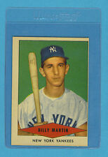 1954 Red Heart Vintage Card - Billy Martin New York Yankees (EX)