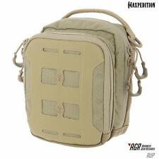 Maxpedition AUP Tan Accordion Utility Pouch Tactical Molle Military Organize