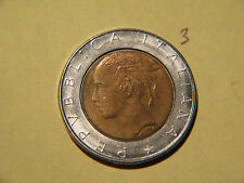 1988, 500 Lire  Italy, Italie, Italia , REPVBBLICA ITALIANA