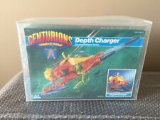 1986 CENTURIONS Power Xtreme: Depth Charger by Kenner MISB Stunning AFA 85 Wow!!