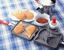 Japanese Taiyaki Pan Fish Bun Maker by Pearl Life