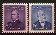 Canada 1954 Sc349-50 Mi296-97 0.80 MiEu  2v  mnh  Prime Ministers of Canada