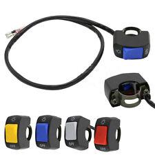 """1X7/8"""" Motorcycle Switch ON OFF Handlebar Adjustable Mount Waterproof Switche uu"""