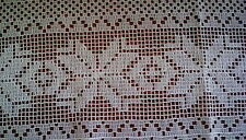 Vintage White Net Cafe Curtains