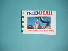 1960's Souvenir Booklet Scenic Utah A Wonderland Of Nature's Magic