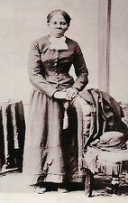 Harriet Tubman, Slave, Union Army Nurse, Underground Railroad Civil War Postcard
