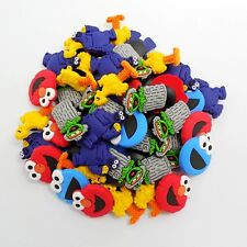 50pcs Sesame Street Shoe Charms Decor For CRoc & Jibbitz Bracelets Kids Gifts
