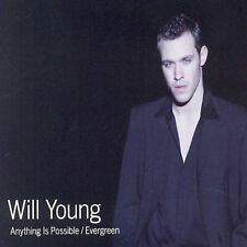 Anything Is Possible/Evergreen [Single] by Will Young (CD, Feb-2002, Bmg)