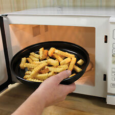 NEW Micro Crisper Pan - Makes Crispy Pizza, French Fries & More In The Microwave