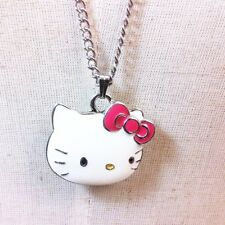 Genuine Sanrio Hello Kitty Pendant Long Necklace Girls Childs Gift Brand New