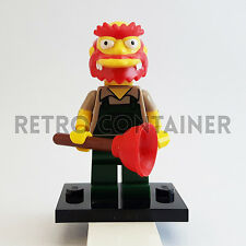 LEGO Minifigures - 1x sim039 - Willie Gardenkeeper - Simpsons Omino Minifig