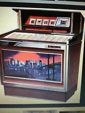 "Juke box  Manuale originale  Rowe AMI "" Music Merchand  "" MM1  Stereo  anno 67"