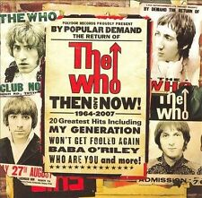 Then & Now by The Who CD 2007 Import remaster Pete Townshend Roger Daltrey