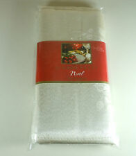 Home Wear Dinner Party Noel Ivory Set of 4 Napkins