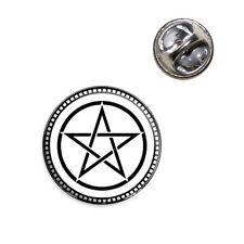Pentagram Lapel Hat Tie Pin Tack