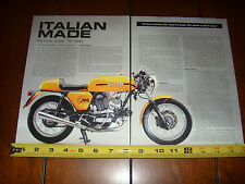 1973 DUCATI 750 SPORT  - ORIGINAL ARTICLE
