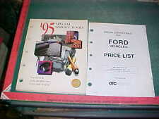 1995 FORD LINCOLN MERCURY CAR / TRUCK SPECIAL SERVICE TOOLS CATALOG xlnt cond.