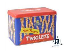 TWIGLETS STORAGE BISCUIT TIN CONTAINER CAKE TIN
