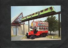Postcard- C1980's View Of The Monorail Train & National Motor Museum, Beaulieu