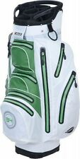 Big Max I-Dry Aqua O Waterproof Cart Bag White/Lime Brand New
