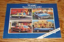 1977 American Motors AMC Special Auto Show Edition Sales Brochure 77