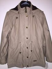 Women's MERRELL Opti-Shell Long Jacket Ski Coat. Fleece Inner Stylish. Medium