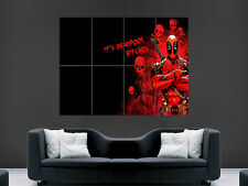 DEADPOOL MARVEL TV FILM MOVIE  COMIC WALL POSTER ART PICTURE PRINT LARGE  HUGE