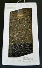 SWAROVSKI for Samsung Galaxy S5 Battery Cover Phone Case Vibrant Blue New FB