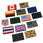 Upick Nation Flag Emblem Iron On Patch Sew Transfer Trim 2