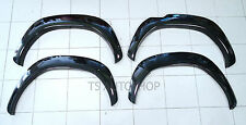 "BLACK FENDER FLEAR ARCH 5"" WHEEL FIT TOYOTA HILUX REVO 4DR SR5 M70 M80 2015-ON"