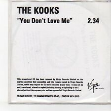 (EN829) The Kooks, You Don't Love Me - DJ CD